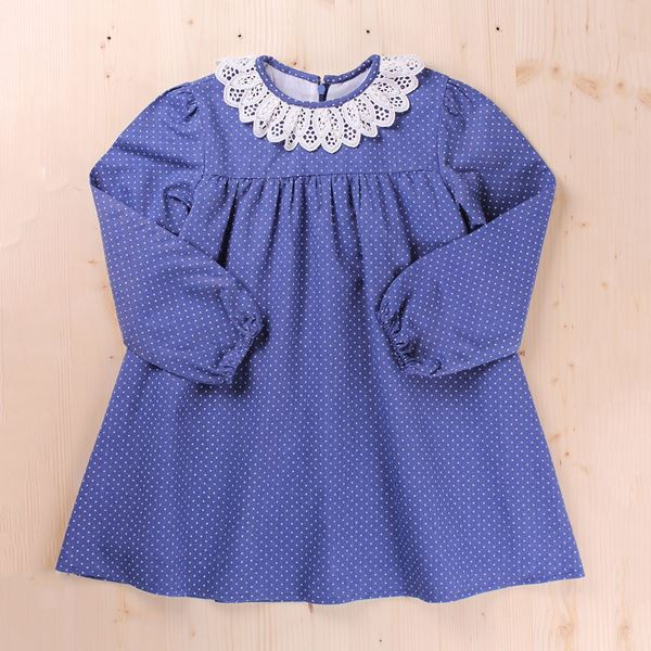 Picture of VESTIDO JUNIOR TOPITO CUELLO GUIPUR