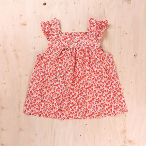 Picture of Blusa Junior flor naranja campesina