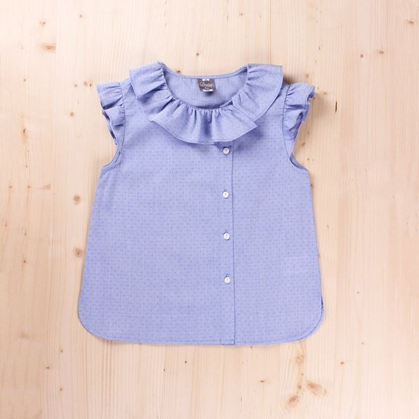 Picture of Blusa Junior dobby volante