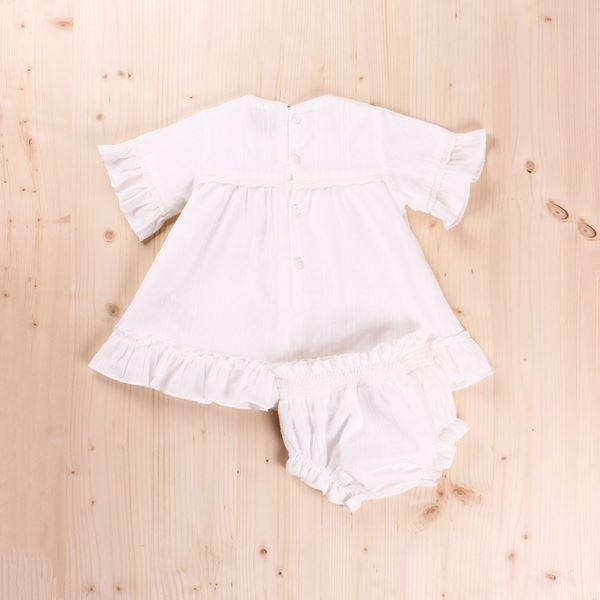 Imagen de Vestido Bebé con  braguita