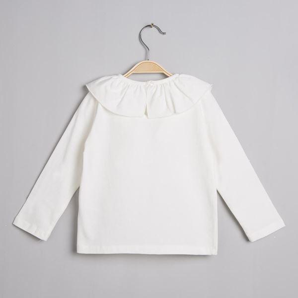 Imagen de Camiseta cuello volante