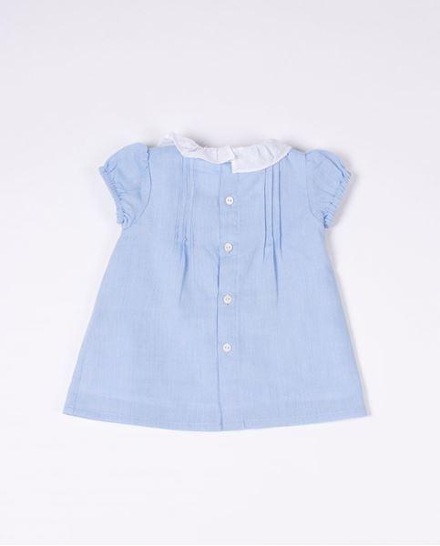 Image de Vestido azul bebe
