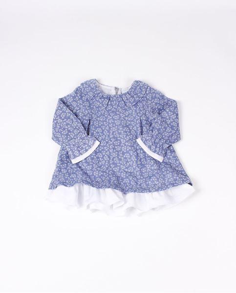 Image de Vestido flores azul