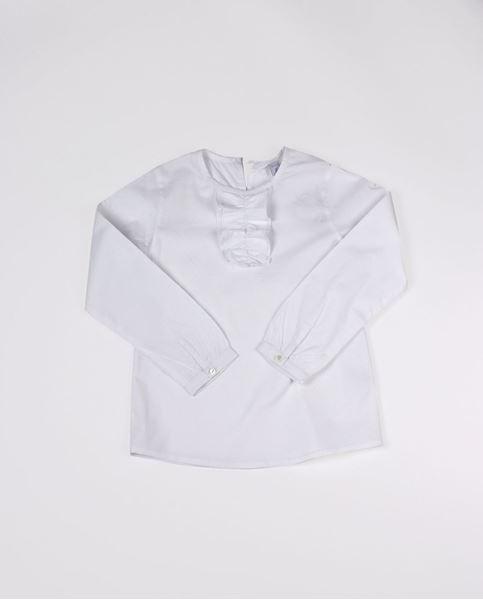 Image de Camisa blanca chorreras