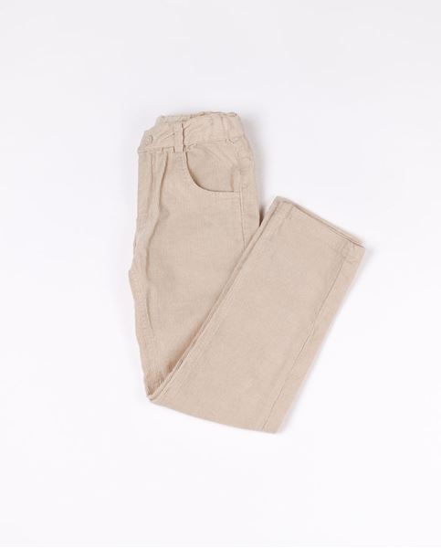 Picture of Pantalón pana beige