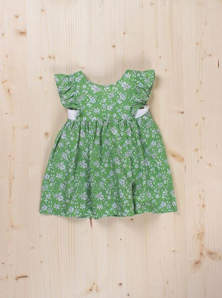 Picture of Dress green flower