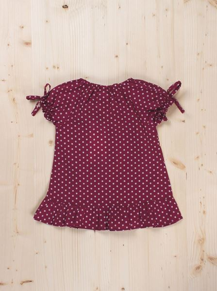 Picture of Dress maroon