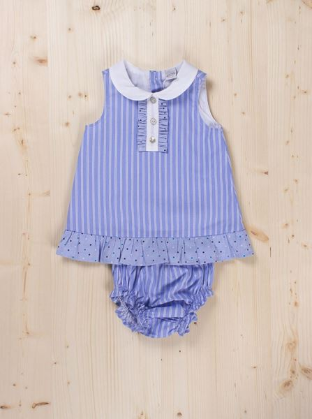 Picture of Culotte set blues stripes