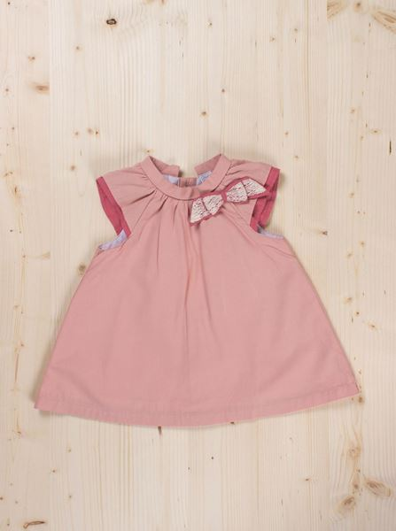 Image de Vestido rosa palo bb