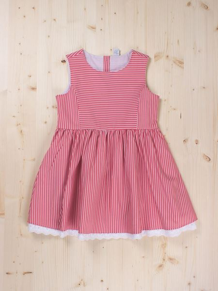 Picture of Red stripes dress