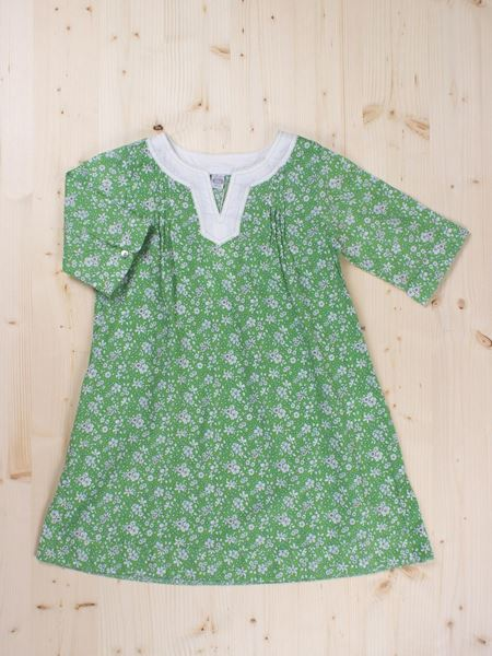 Picture of Green flower dress