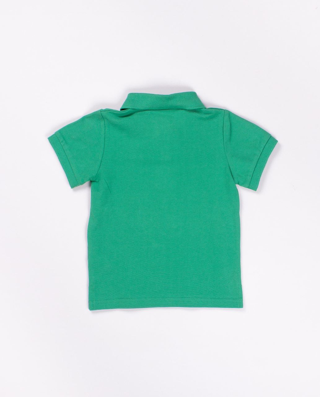 77074210e Polo pique manga corta algodon niño verde sandia. Dadati Profesionales