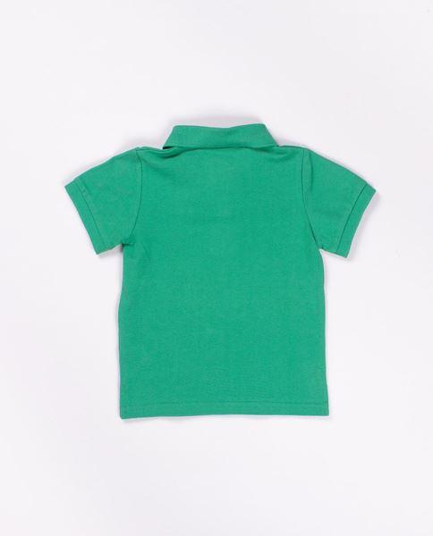 Image de Polo m/c niño verde sandia