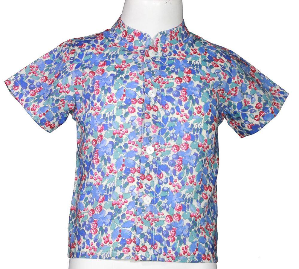 Imagen de Camisa estampado grosella