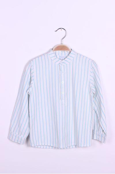 Image de Camisa m/l cuello mao