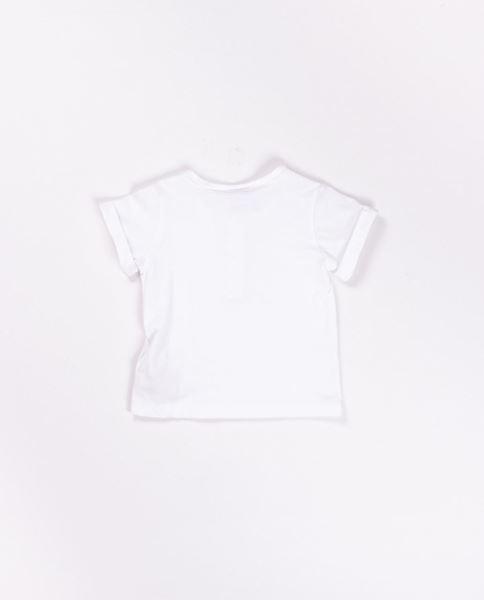 Image de Camiseta blanca con botones