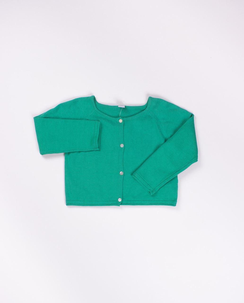 8537d57a6 Chaqueta niña algodon verde sandia. Dadati Profesionales
