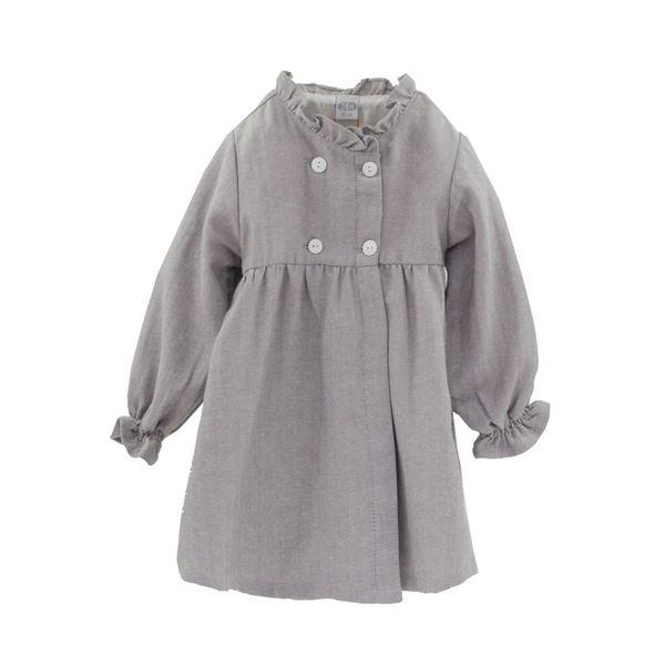 Image de Vestido Espiguilla gris