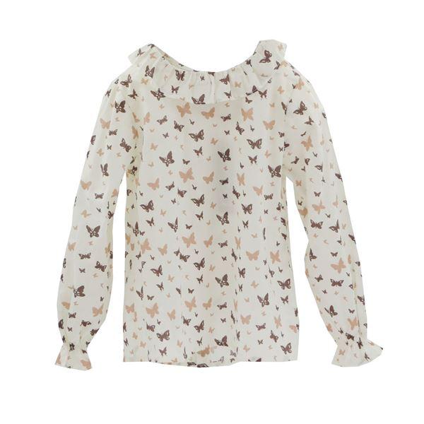 Imagen de Camisa niña mariposas