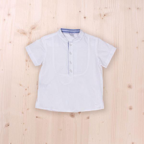Image de Camisa blanca manga corta niño