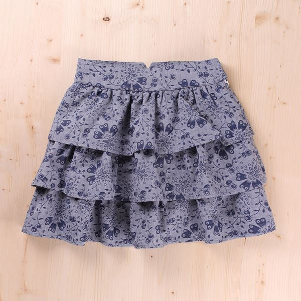 Picture of FALDA JUNIOR INDIGO VOLANTES