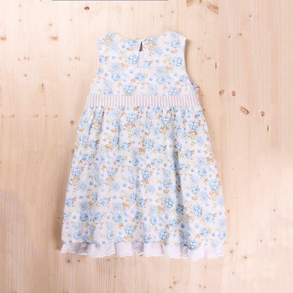 Image de Vestido Junior Petunia Corte Cintura