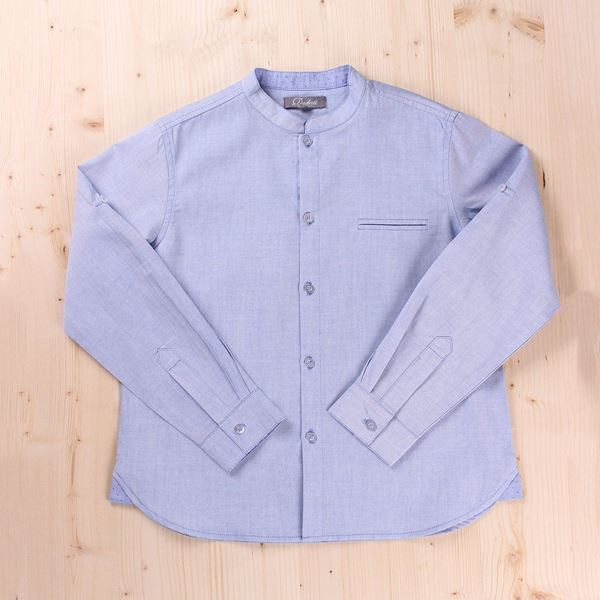 Imagen de Camisa Junior oxford azul