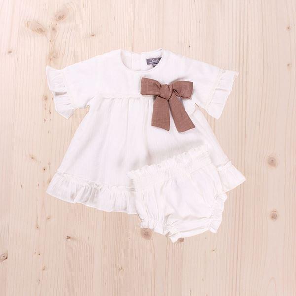 Image de Vestido Bebé con  braguita