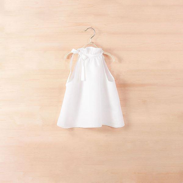 Picture of Blusa lino cuello halter