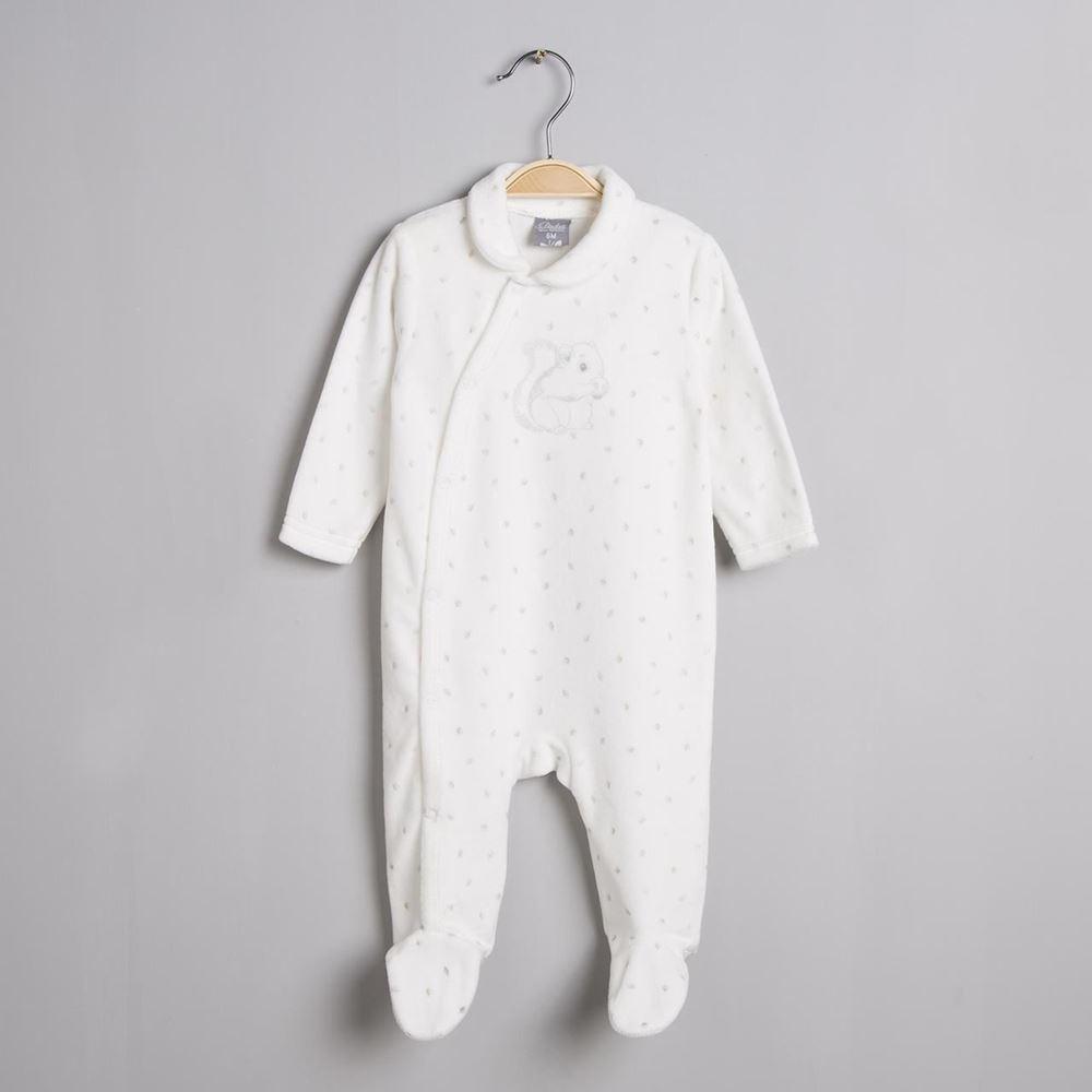 Imagen de Pijama ardilla terciopelo