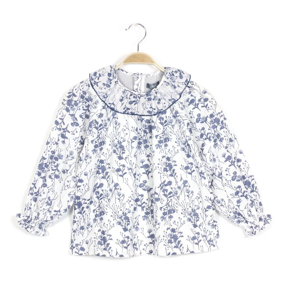 Image de Camisa bebé floral Vintage