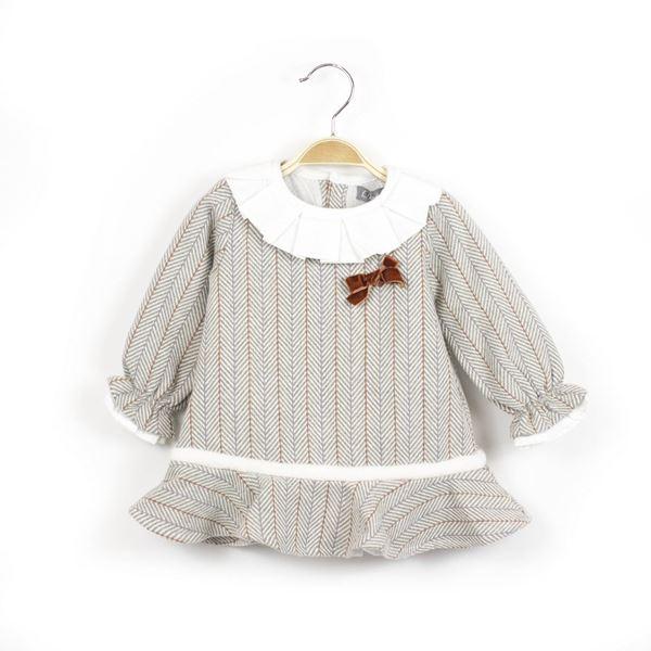Imagen de Vestido bebé Copito de nieve