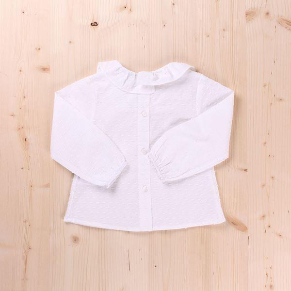 Imagen de Camisa bebé cuello volante