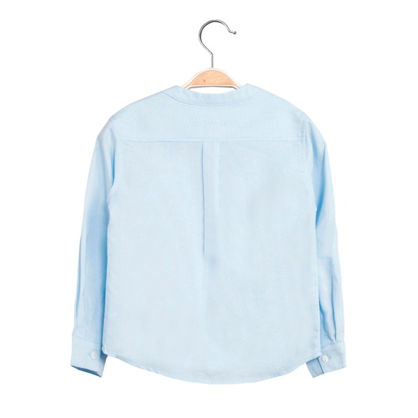 Picture of Camisa de niño en azul claro y manga larga