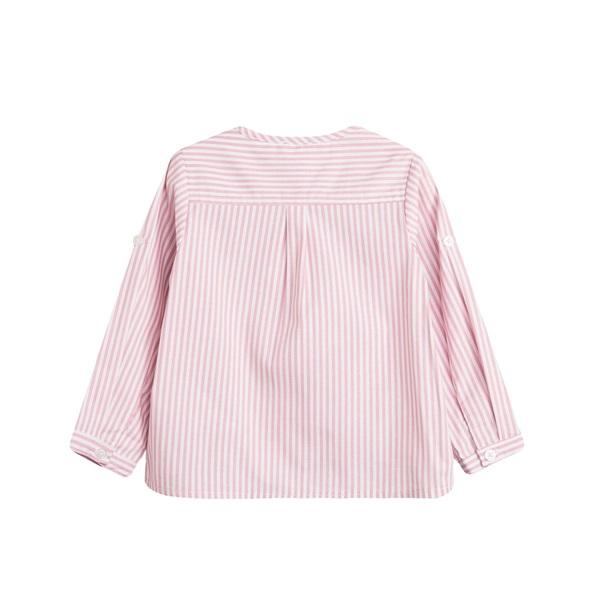 Picture of Camisa de bebé niño de rayas y manga larga