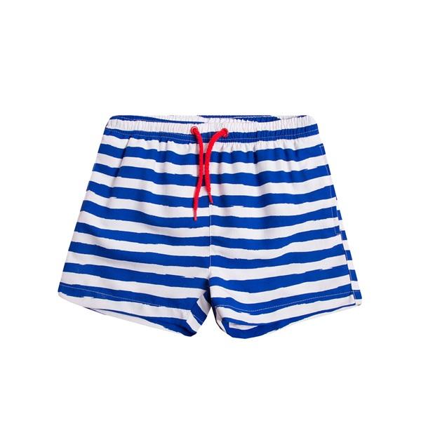 Image de Bañador de niño de rayas marineras tipo bermuda