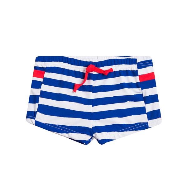 Image de Bañador de bebé niño de rayas marineras tipo boxer