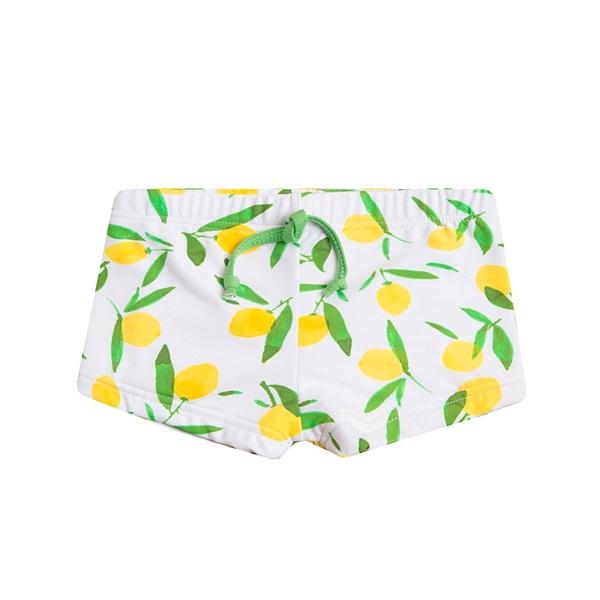 Image de Bañador de bebé niño tipo boxer con estampado de limones