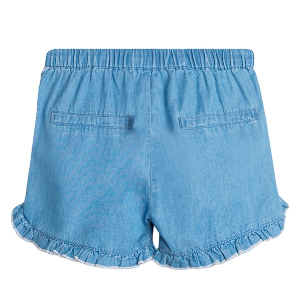 Picture of Short de niña en denim bordado