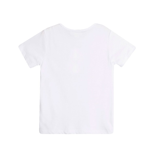 Picture of Camiseta de niño en blanco con detalle bolsillo