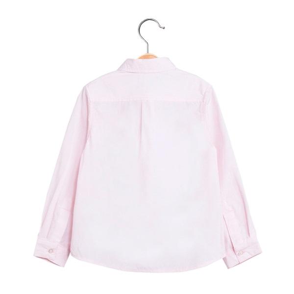 Picture of Camisa de niño en rosa y manga larga