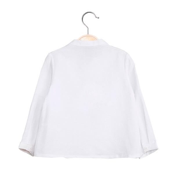 Picture of Camisa de bebé niño en blanco y manga larga