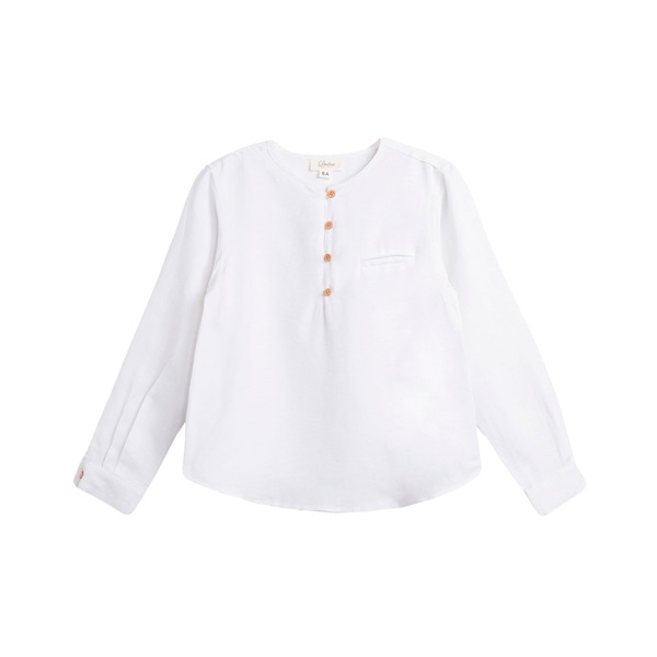 Picture of Camisa de niño en blanco y manga larga
