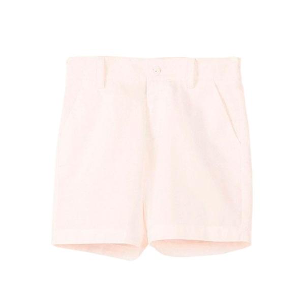 Imagen de Bermuda de niño en blanco con bolsillos