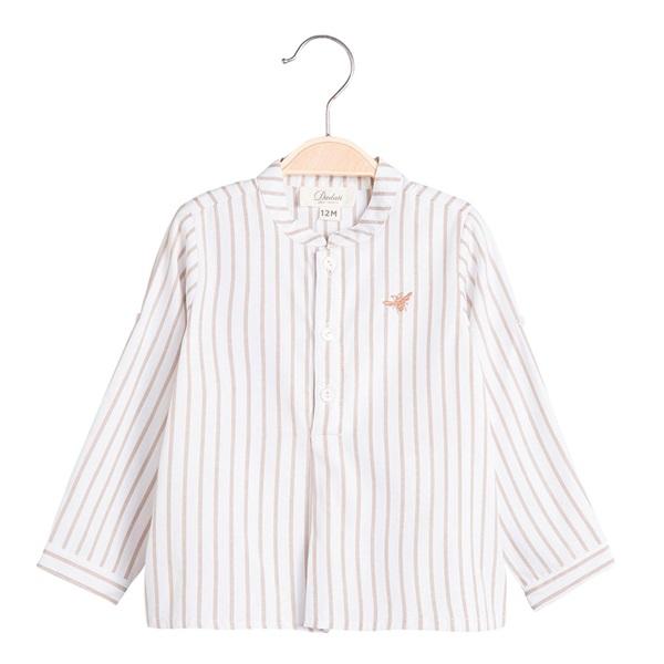Image de Camisa de bebé niño Dadati de rayas y manga larga