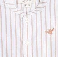 Imagen de Camisa de bebé niño Dadati de rayas y manga larga