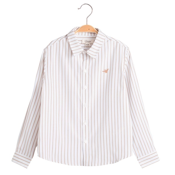 Image de Camisa de niño Dadati de rayas y manga larga