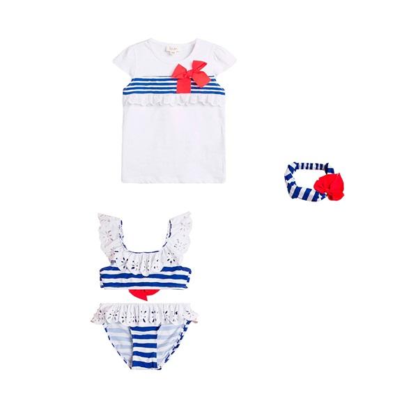 Image de LOOK Marinera niña bikini