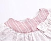Imagen de Vestido bb rayas rosas