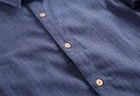 Imagen de Camisa junior azul con coderas